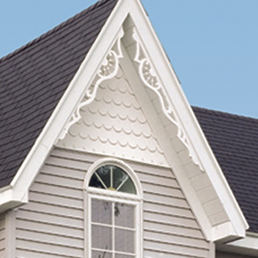 Vinyl Gingerbread Trim For The Home House Siding