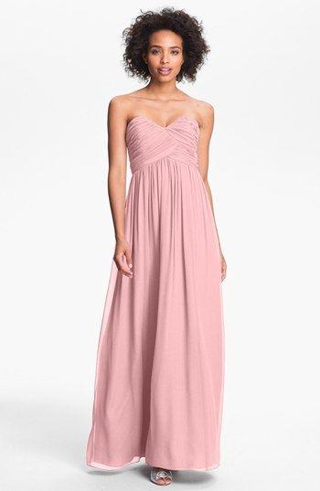Hochzeitskleid mit rosa  Hochzeitskleid