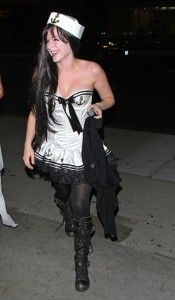 Avril Lavigne - Sailor Halloween Costume  http://www.redlightvintage.com/get-the-celebrity-look-sexy-sailor/