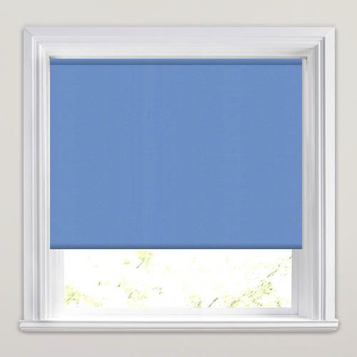 Neo Light Blue Roller Blind