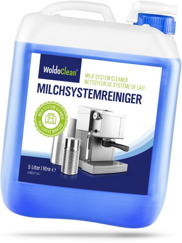 Woldoclean Milchschaumreiniger Fur Kaffeevollautomaten 5 Liter In