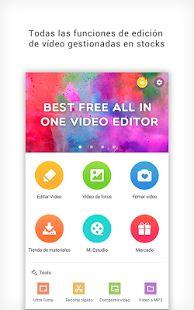 Editor de vídeos: cortar vídeo: miniatura de captura de pantalla
