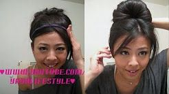 audrey hepburn hair easy - YouTube. This is the one I used for Happy Fall, Y'all! costume recital