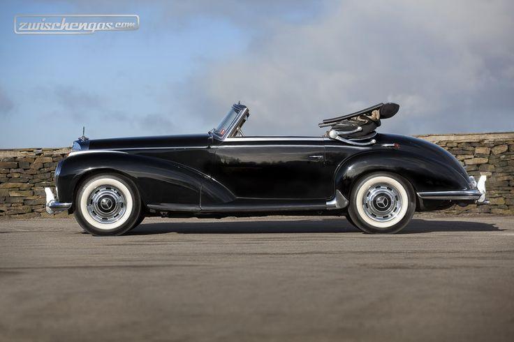 Von 1951 bis 1958 baute Mercedes den 300 S als Cabriolet, Roadster und Coupé © Courtesy Bonhams