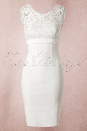 Unique Vintage White lace bow wedding dress 13033 20140603 0004 2 - Perfekt für die standesamtliche Hochzeit =)