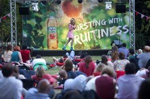 Volvic's inaugural comedy festival at London's Regent's Park