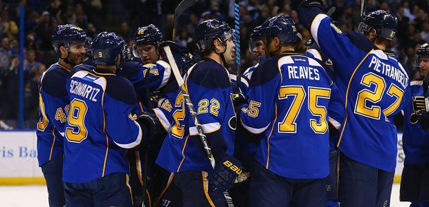 Blues Tweak Roster to Prepare for 2014-15 - St Louis Blues - News