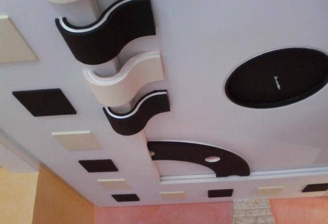 Faux plafond platre maroc 2015 faux plafonds pinterest for Decoration platre salon