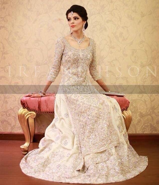 Wedding Dresses Karachi : Pakistani bridal dress more wear white wedding