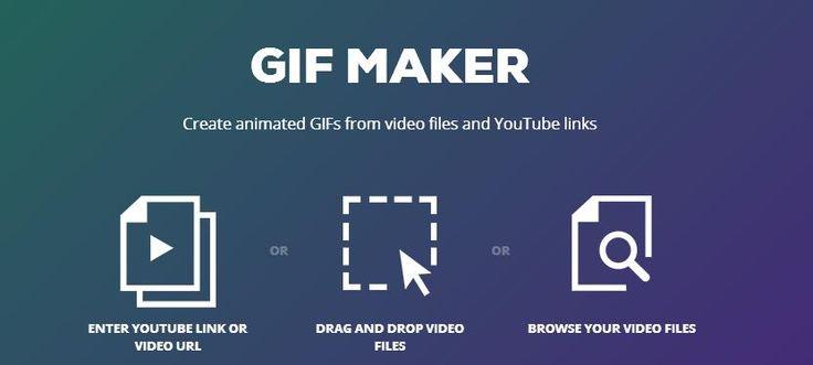 GIF MAKER, crear GIFs desde cualquier vídeo de youtube