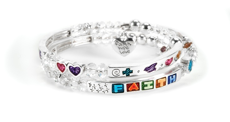 Just Jewelry Niagara offers the 'Faith, Hope, Love' bracelet in support of the Plumpy'Nut® initiative. For each $18 bracelet sold, Just Jewelry donates the funds necessary to provide two Plumpy'Nut® treatments to a malnourished child.