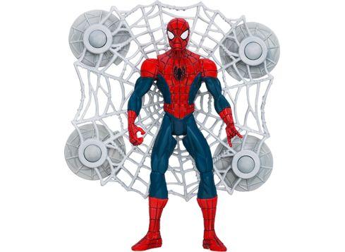 SPIDER-MAN Ultimate Core figur, Spider-Man og kjempestort nett (tilbud hos toys R us)