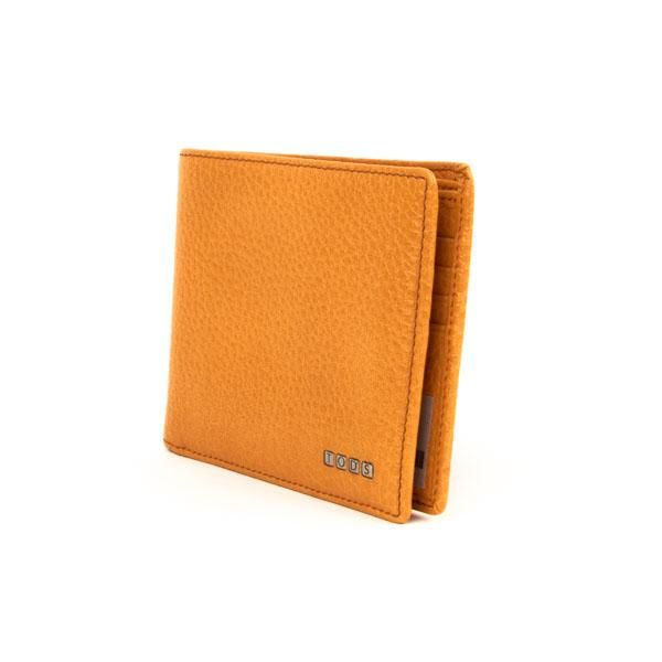 PRE-OWNED TOD'S GENTS WALLET IN ORANGE – STORE 5a