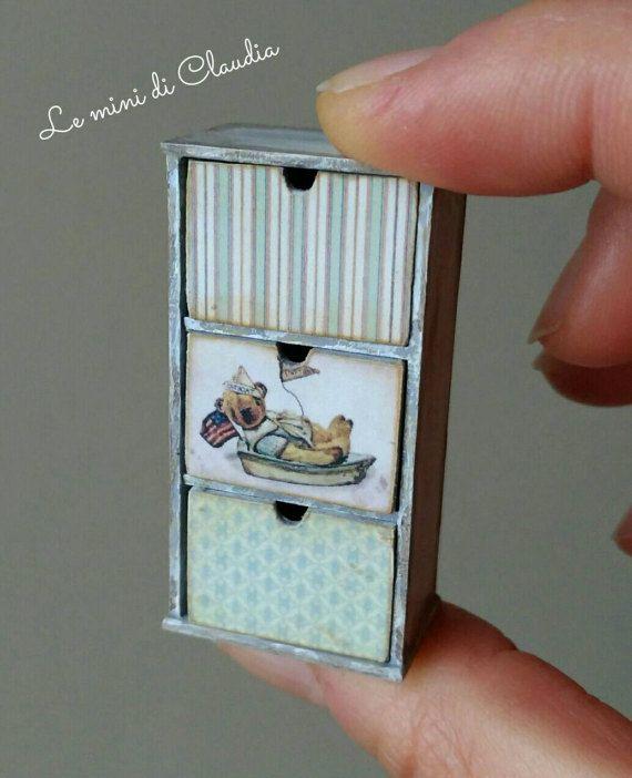 2018. Miniature Cabinet ♡ ♡By Le Mini Di Claudia