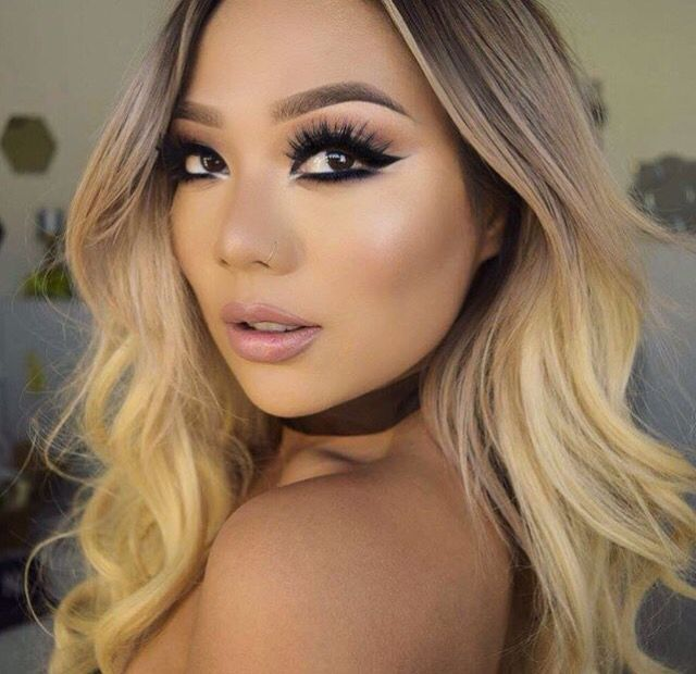 The Perfect Blonde Color Melt For Olive Skin Tones