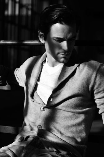 Men in Cardigans! and this one....Matt Bomer