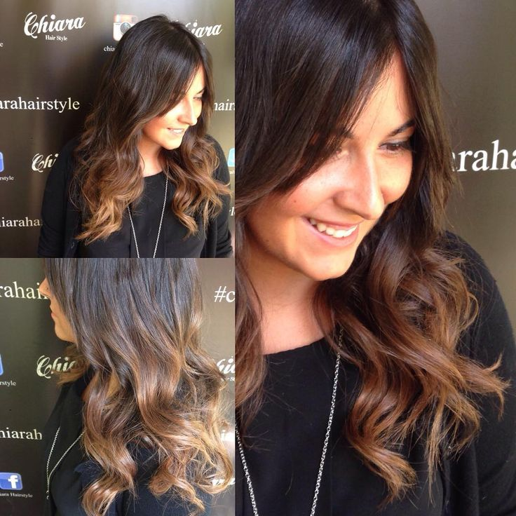 """""""She laughs.... And we are happy....#passion❤️ #for #hair  #nice #haircolor .....#quality #chiarahairstyle @chiara_hairstyle"""""""