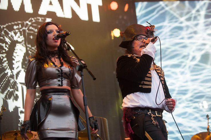 Adam Ant & Georgina Baillie