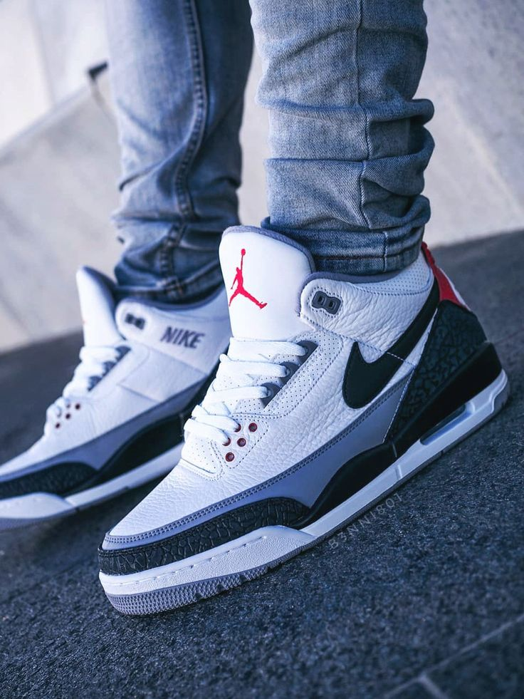 Nike Air Jordan 3 NRG Tinker – 2018 (by b3nni801)
