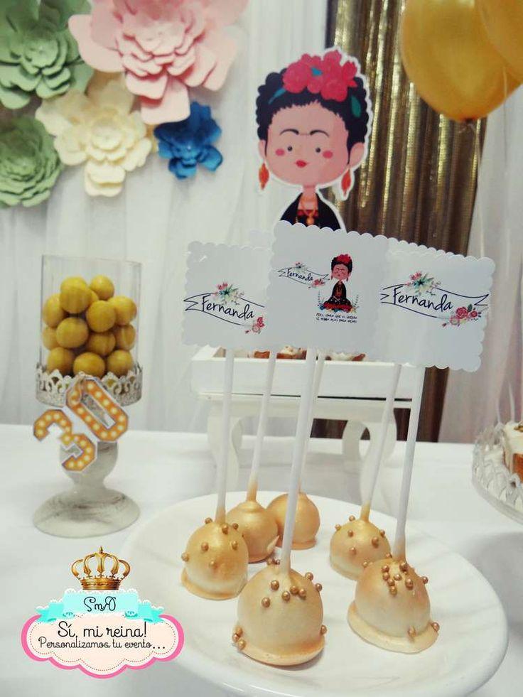 Frida kahlo birthday party ideas frida frida kahlo y - Decoracion 30 cumpleanos ...