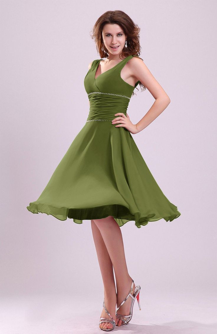 17 best ideas about olive bridesmaid dresses on pinterest for Olive green wedding dresses