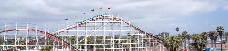 Belmont park, san diego. Free admission pay for rides!