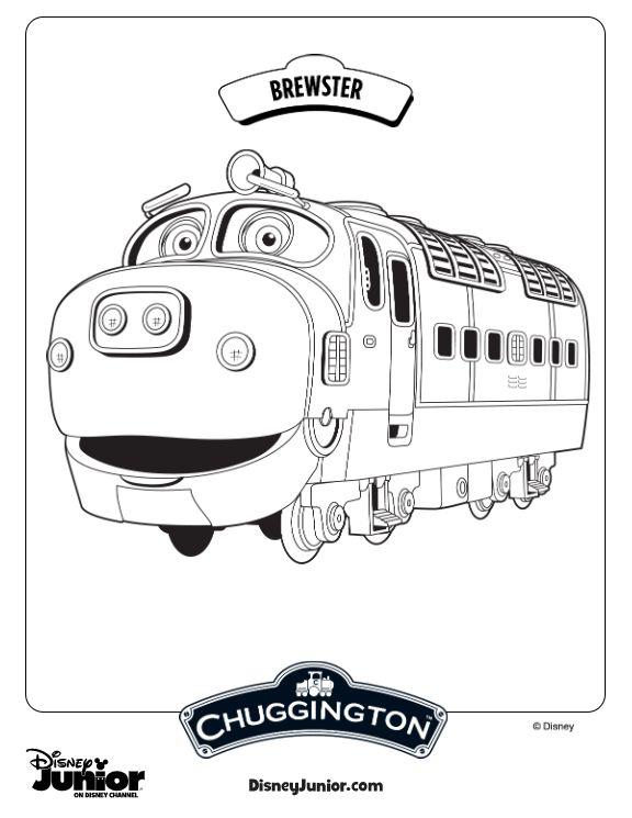 Contemporáneo Chuggington Para Colorear Brewster Colección - Dibujos ...