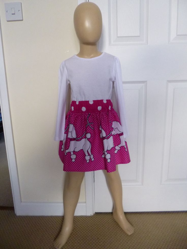 Pretty poodle skirt age 5 years