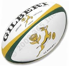 springbok rugby ball