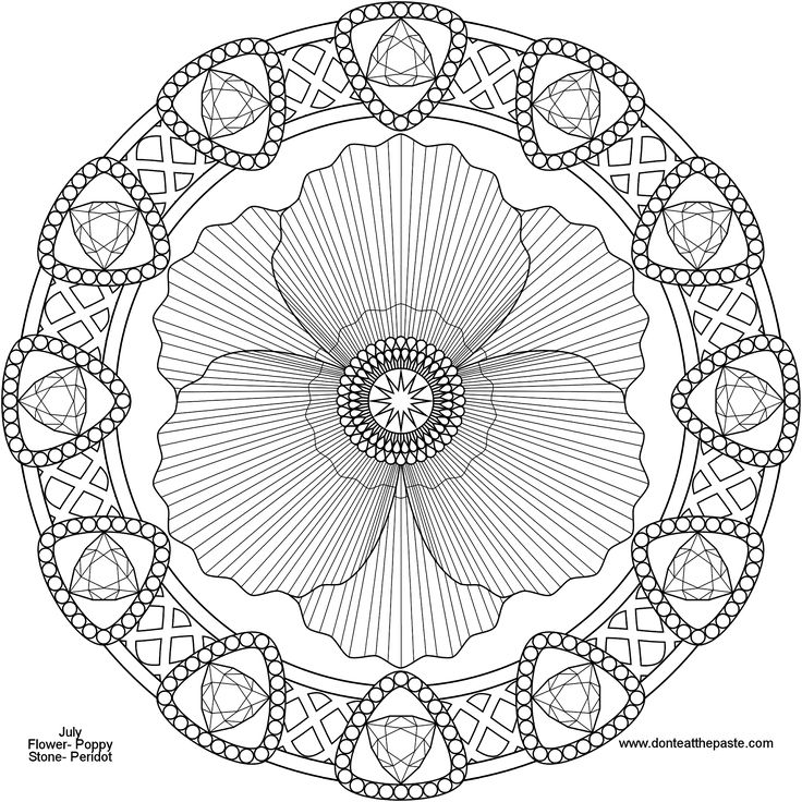 The 872 best Mandalas images on Pinterest   Coloring books ...