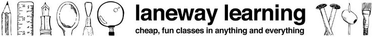 Laneway Learning, $12 short courses