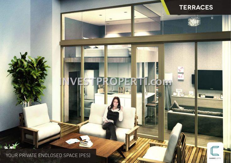 Terrace Cambio Lofts Alam Sutera apartment #cambiolofts