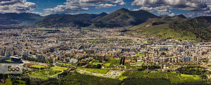 Sicily: Its urban agglomeration by SwissFiveNine