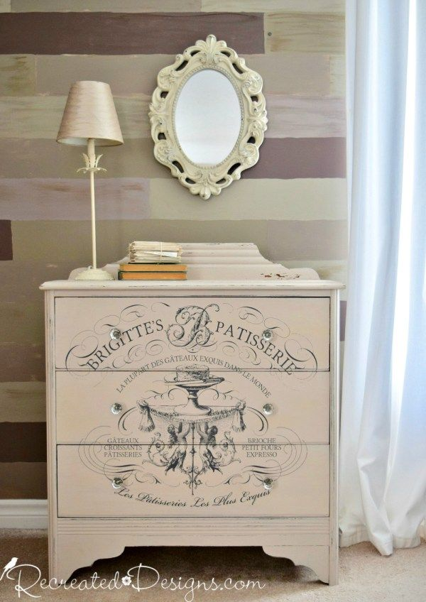 How to Use an IOD Transfer to Completely Transform a Dresser