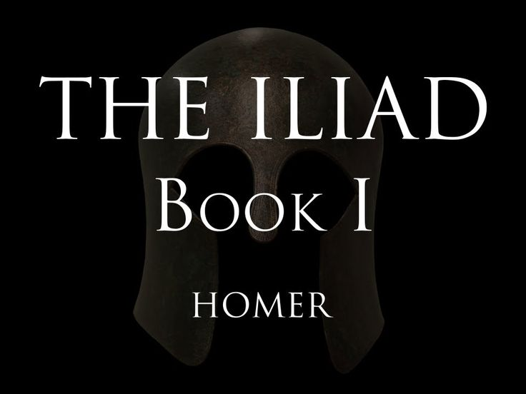 an analysis of the epic the iliad by homer Presenting analysis, context, and the iliad (/ ˈ ɪ l i ə d / a literary analysis of the epic poem iliad by homer ancient greek.