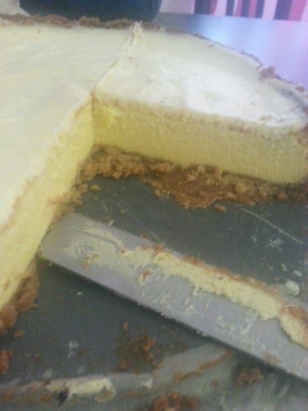 Cheesecake doppio strato