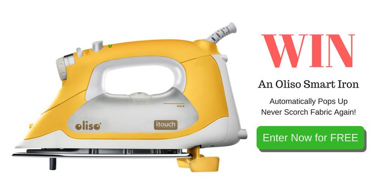 Want an Oliso Smart Iron? Enter Now for Free... http://upvir.al/ref/IT12093377 via @SewMuchEasier