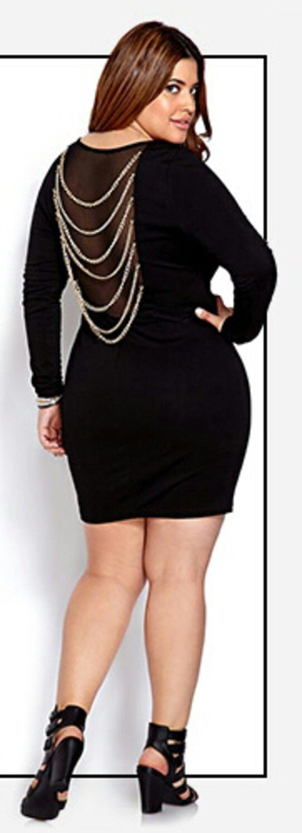 Gotta Have It: This Baroque Plus Size Sweater Dress from Ashley