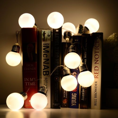 Warm white battery 10 led mini bulb #fairy string light xmas #garden #outdoor dec,  View more on the LINK: http://www.zeppy.io/product/gb/2/141945573925/