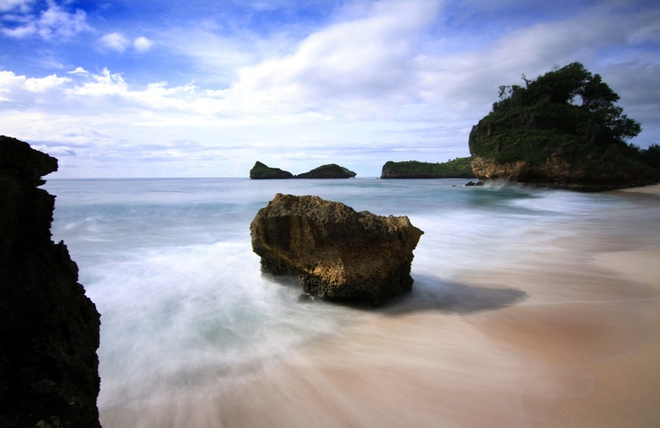Srau Beach pacitan East Java,home