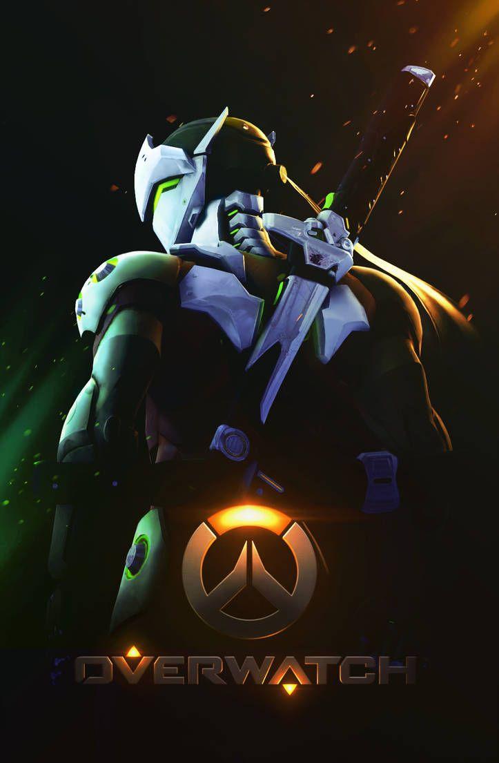Genji Shimada Overwatch By Paintispainful オーバーウォッチ
