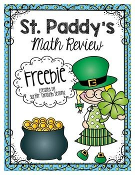 This is a set of 6 fun printables that you can use in your class with a St. Patrick's Day theme.Skills include:2 and 3 Digit Addition2 and 3 Digit SubtractionTimeMoneyThe addition and subtraction pages have a riddle that can be solved by filling in the answers.I hope you and your class enjoy this freebie.