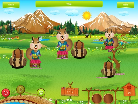 Prepositions Journey ($9.99) The Prepositions Journey app was developed by a certified speech and language pathologist to aid practice with early/common prepositions. Children will have fun practicing prepositions with three animals who appear in three different colorful, animated scenes: camping, island, and city. Review by the wonderful @Nikki Heyman here http://talkingtalk.co.za/prepositions-journey-app-review/