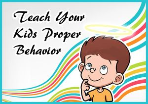 Now parents have responsibility to teach kids to behave properly with elders and communicate better with their younger
