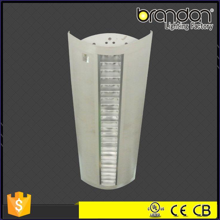 Morden design 1x28w fluorescent lighting fixture led aluminum profile adjustable pendant lamp