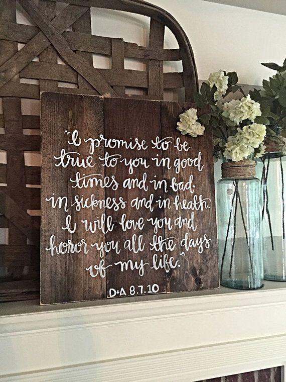 Hey, I found this really awesome Etsy listing at https://www.etsy.com/listing/243668950/wedding-vows-rustic-decor-wedding-prayer