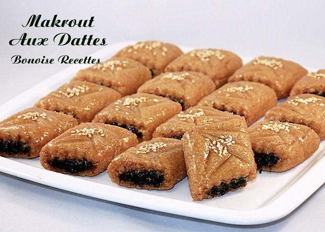 makrout aux dattes gâteaux algériens