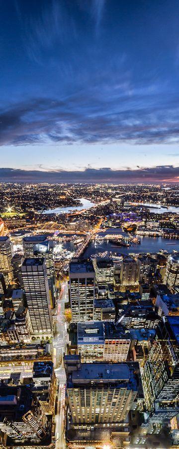 Sydney Tower view, Sydney, Australia