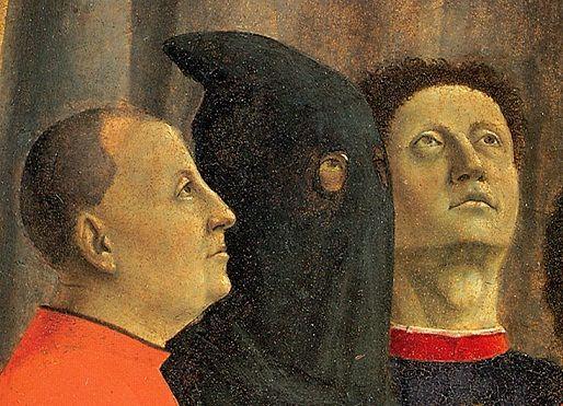 Piero della Francesca, Polyptyque de la Miséricorde, Borgo Sansepolcro, détail