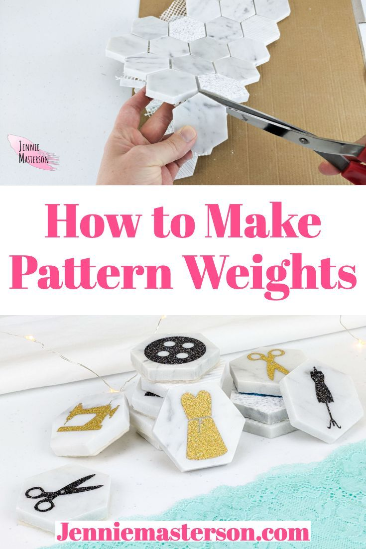 Diy Sewing Pattern Weights With Free Svg Pattern Weights Diy